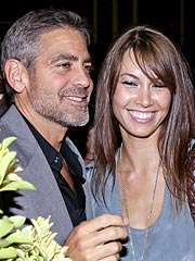 George Clooney, Girlfriend in Motorcycle Crash