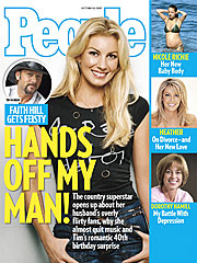 COVER STORY SNEAK PEEK: Faith Hill Gets Feisty!