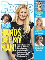 COVER STORY SNEAK PEEK: Faith Hill Gets Feisty!