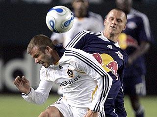 David Beckham Bounces Back into Action