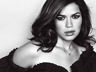 Glam America Ferrera Talks About Tough Childhood