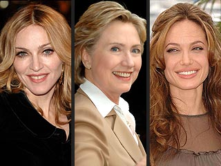 Hillary, Meet Your New Cousins: Angelina and Madonna