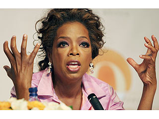 Oprah Apologizes to Families at African School