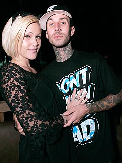 Shanna Moakler Rushes to Travis Barker's Side