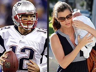 Tom Brady Visits His Son During Time Off