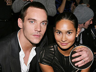 Jonathan Rhys Meyers Sports Ring on His Left Hand