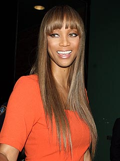 Tyra Banks Hosts Online Model Search