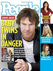 COVER STORY SNEAK PEEK: Dennis Quaid's Twins in Danger