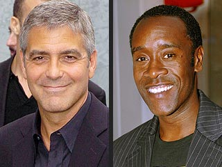 Clooney and Cheadle Honored by Nobel Prize Winners