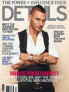 Kevin Federline Lands Cover of Details Magazine's 'Power List'