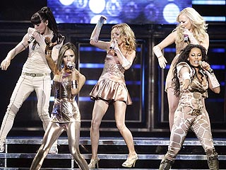 The Spice Girls Return Home