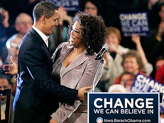Oprah Winfrey on Obama: 'This Is Very Personal'