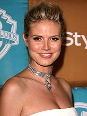 Heidi Klum Walks Runway – Six Weeks after Baby!