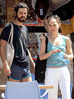 Couples Watch: Natalie & Devendra Wear Short Shorts in Israel
