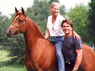 Pals: Patrick & Lisa Swayze Are 'Each Other's Rocks'