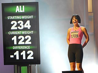 Ali Is Biggest Loser's First Female Winner