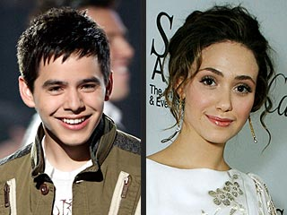 Emmy Rossum Applauds David Archuleta
