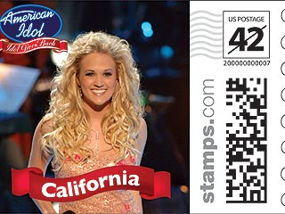 Carrie Underwood's 'Amazing' Stamp