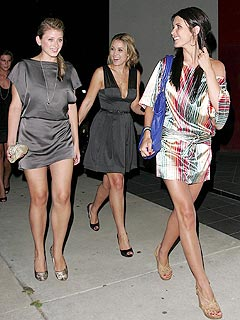 Audrina Joins Lauren to Celebrate Lo's Graduation