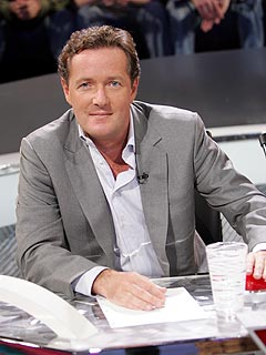 Piers Morgan Sounds Off on the Top 10 and Why Sarah Palin Shoud Be a Talent Judge