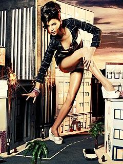 Top Model Recap: Blackout Means Lights Out forClark