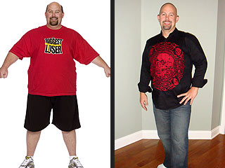 Biggest Loser's Phillip Shows Off a 34-Inch Waist