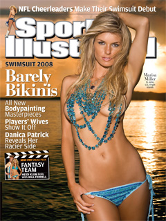 Revealed! Marisa Miller On Cover of SI's Swimsuit Issue