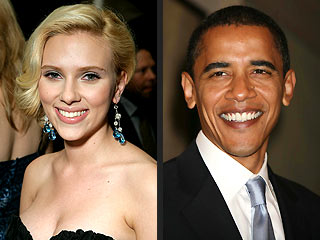 The New Obama Girl: Scarlett Johansson