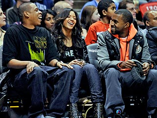 Beyoncé and Kanye: Good Sports