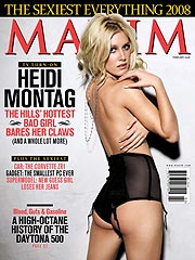 Heidi Montag's Maxim Moment: Hot or Not?