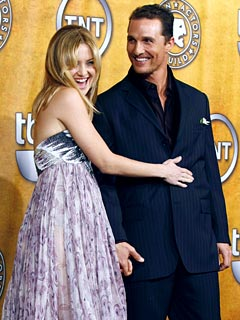 Kate Hudson & Matt McConaughey Talk Parenting