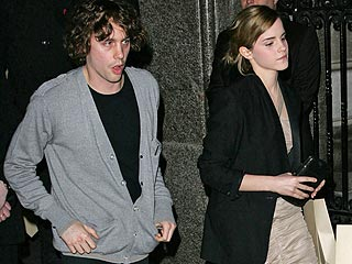 Emma Watson & Rocker Johnny Borrell: Just Hanging Out