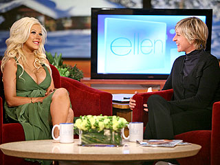 Ellen to Christina Aguilera: 'Are You Nursing?'