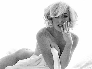 Lindsay Lohan 'Very Happy' with Nude Photos