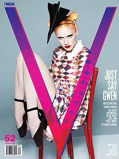 Gwen's Avant-Garde Cover Shot