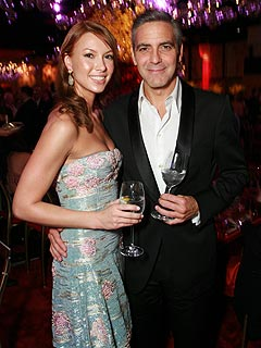 George Clooney's Oscar Date Night with Sarah Larson