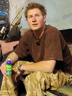 Prince Harry Fighting in Afghanistan