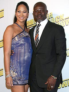Kimora Lee Simmons & Djimon Hounsou: Baby on the Way?