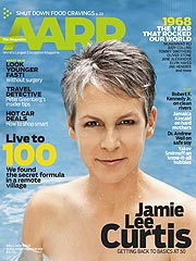 Jamie Lee Curtis Drops Her Top to Make a Point