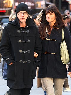 Helena Christensen Steps Out with Interpol Rocker
