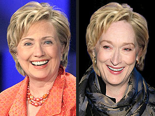 Casting the Presidential Wannabes: Meryl Streep Voted Most Likely to Play Hillary