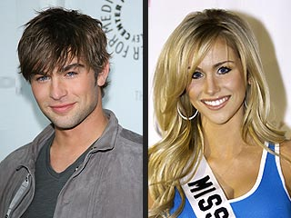 Chace Crawford Cheers On a Miss USA Beauty – His Sister