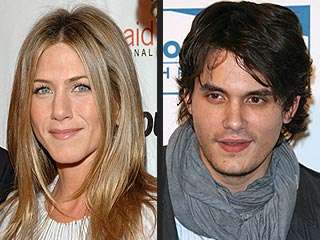 John Mayer's Backstage Kiss From Jennifer Aniston