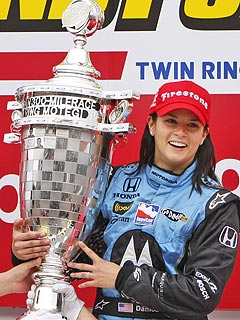 Danica Patrick Makes History