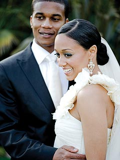 Tia Mowry Gets Married