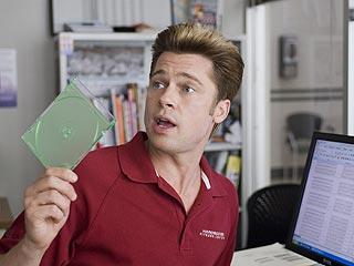 Brad Pitt's Look: Computer Geek Chic