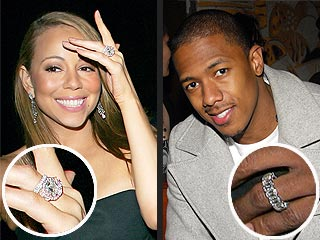 Mariah Carey First Wedding Ring Nick  amp Mariah s Wedding Bling
