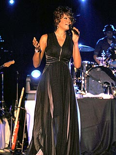 Whitney Houston 'Fantastic' at London Show