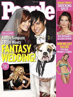 EXCLUSIVE: See Ashlee & Pete's First Wedding Photo