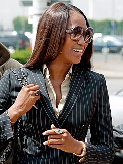 Naomi Campbell Charged with Assaulting Airport Officers